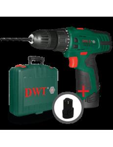 Аккумуляторный шуруповерт DWT ABS-10,8 Li-2 BMC