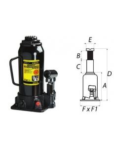 Домкрат гидравлический бутылочный Sigma 10 т (860100)